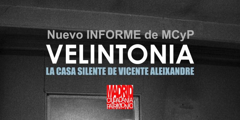 Informe Velintonia